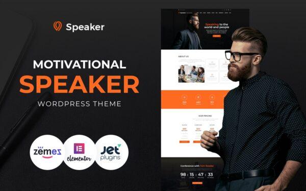 WordPress Kotisivut – Speaker