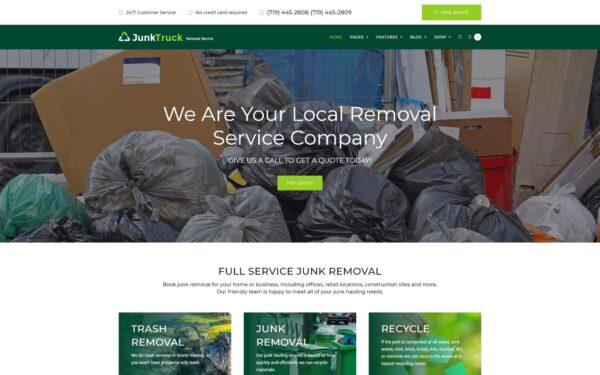 WordPress Kotisivut – JunkTruck
