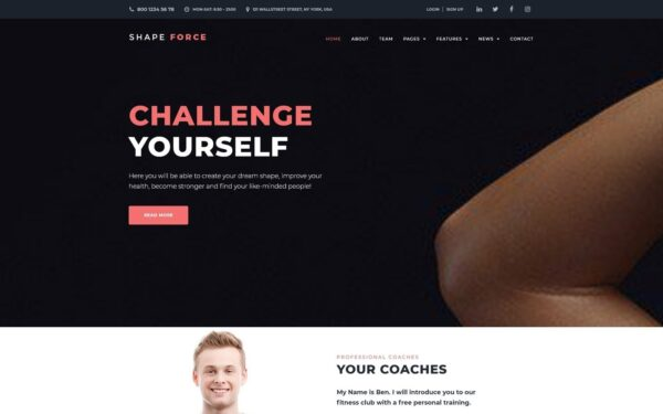WordPress Kotisivut – ShapeForce