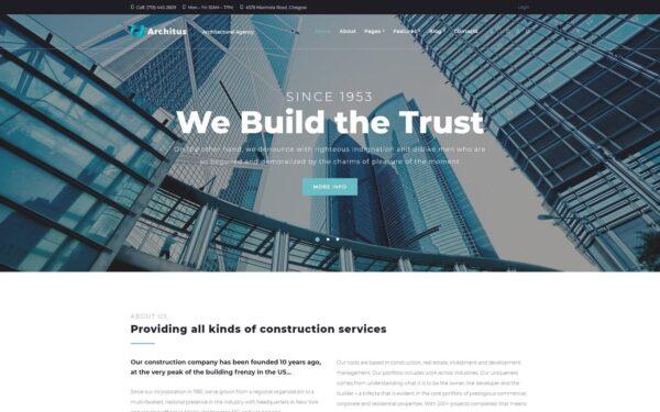 WordPress Kotisivut – Architus