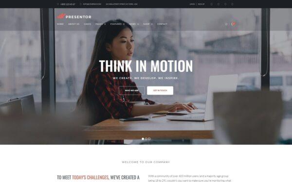 WordPress Kotisivut – Presentor