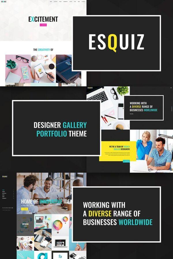 WordPress Kotisivut – Esquiz