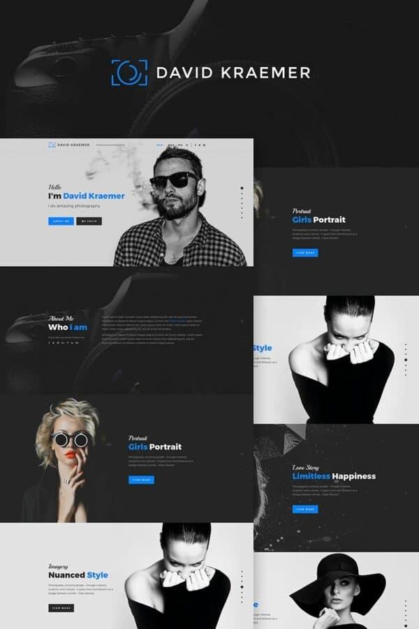 WordPress Kotisivut – David Kraemar