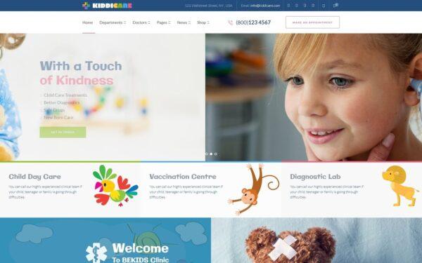 WordPress Kotisivut – KiddiCare