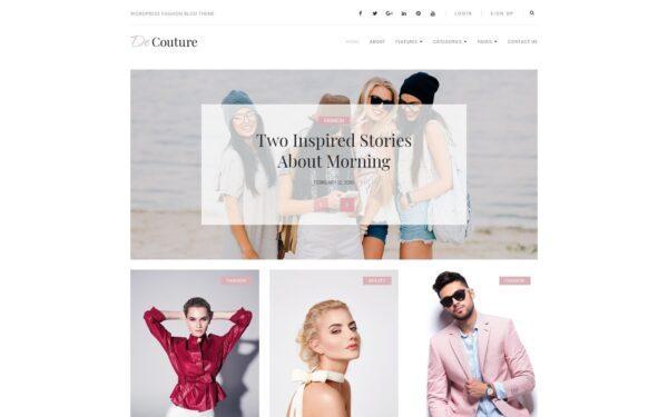 WordPress Kotisivut – De Couture