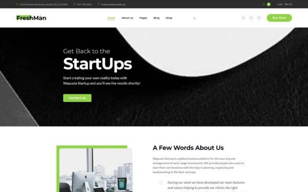 WordPress Kotisivut – Freshmen