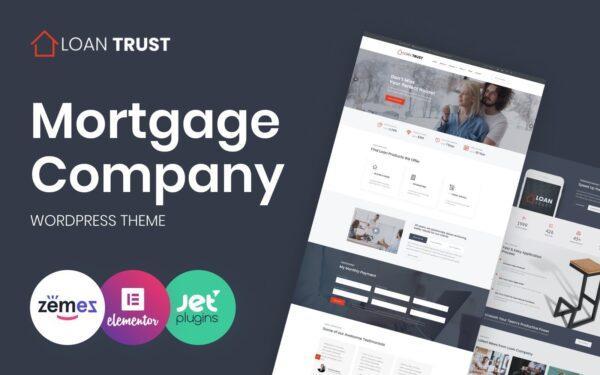WordPress Kotisivut – Loan Trust