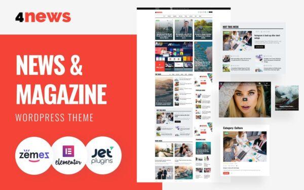 WordPress Kotisivut – 4News