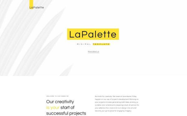 WordPress Kotisivut – La Palette