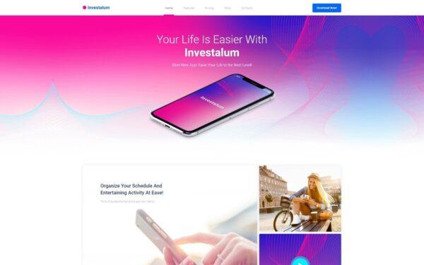 WordPress Kotisivut – Investalum