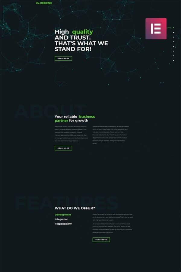 WordPress Kotisivut – Creatonix