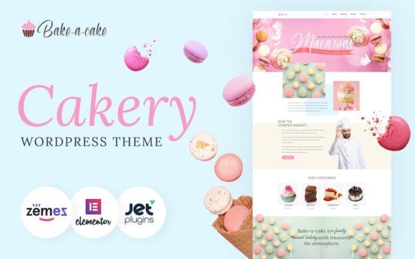WordPress Kotisivut – Bake-a-cake