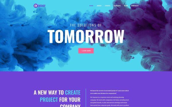 WordPress Kotisivut – Eventagy