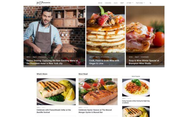 WordPress Kotisivut – Gastronomix