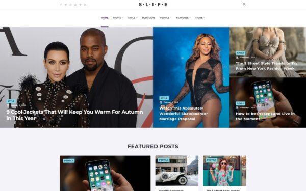 WordPress Kotisivut – Slife