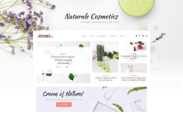 WordPress Kotisivut – Greeny's