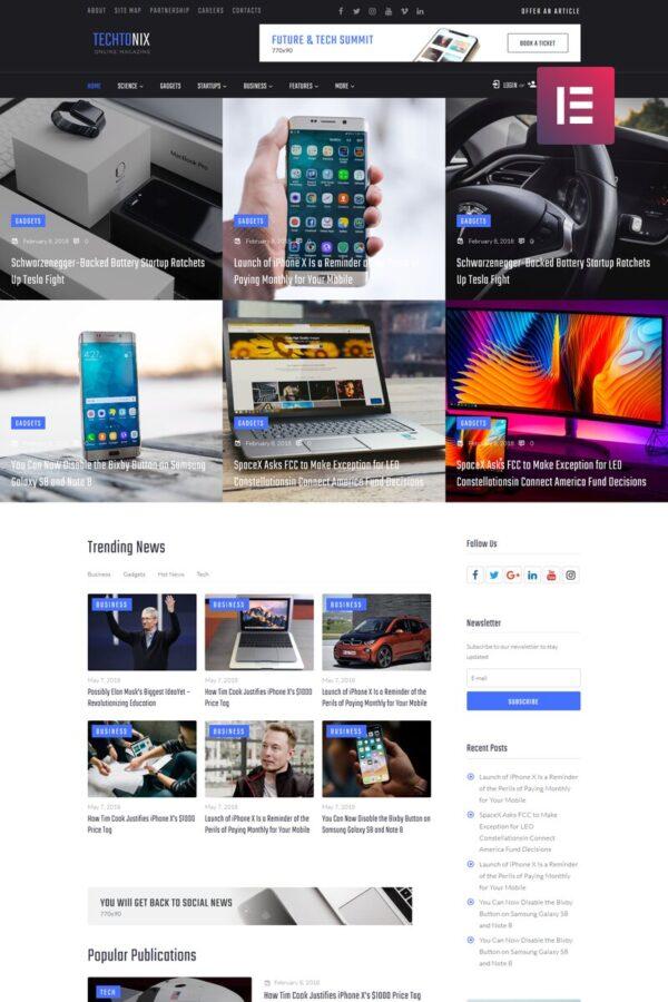 WordPress Kotisivut – Techtonix