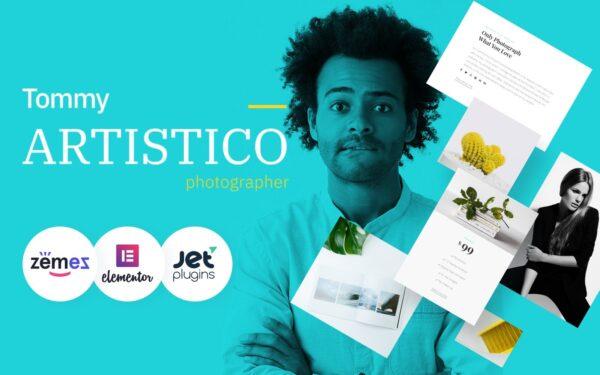 WordPress Kotisivut – Tommy Artistico