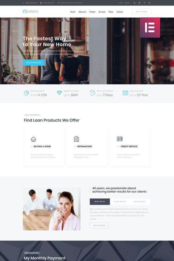 WordPress Kotisivut – Credix