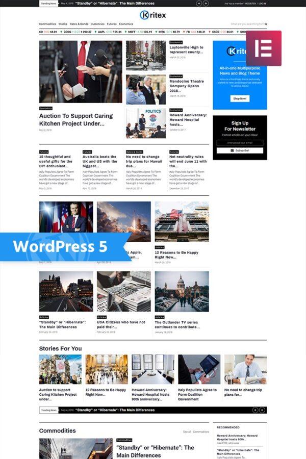 WordPress Kotisivut – Kritex