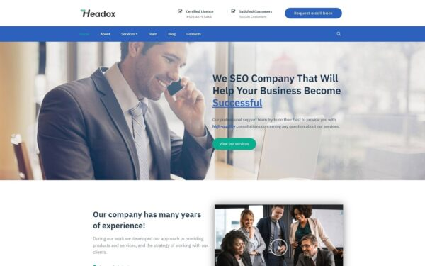 WordPress Kotisivut – Headox