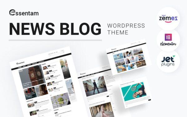 WordPress Kotisivut – Essentam