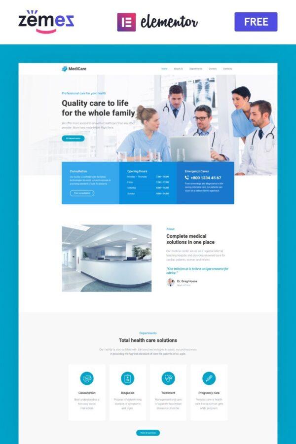 WordPress Kotisivut – MediCare