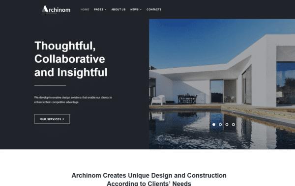 WordPress Kotisivut – Archinom