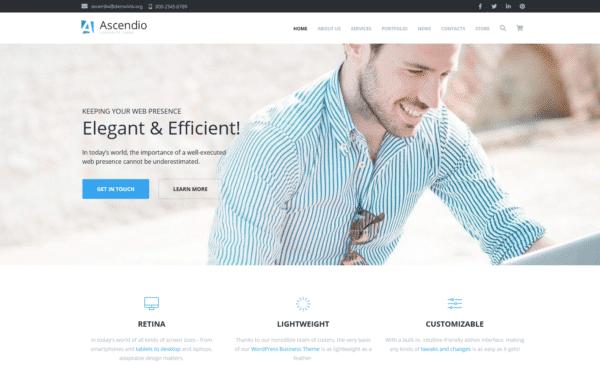 WordPress Kotisivut – Ascendio