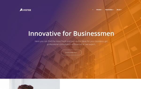 WordPress Kotisivut – Avistee Gradient