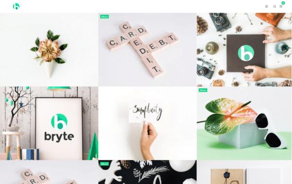 WordPress Kotisivut – Bryte Gallery