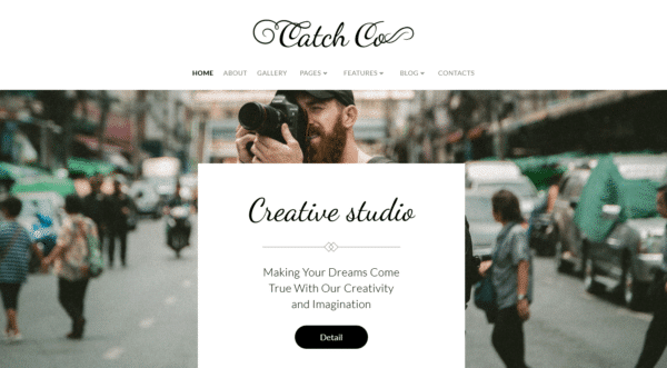 WordPress Kotisivut – Catch Co