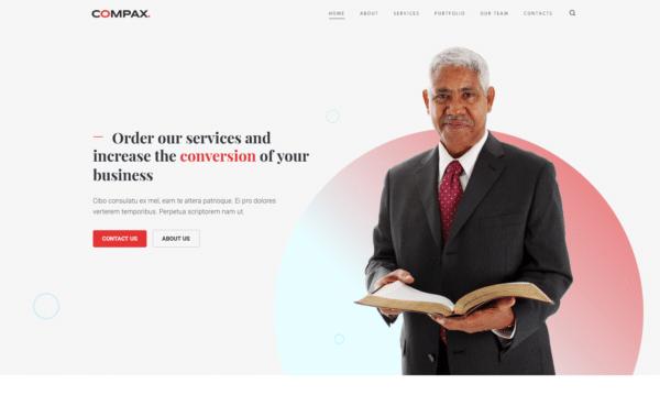 WordPress Kotisivut – Compax