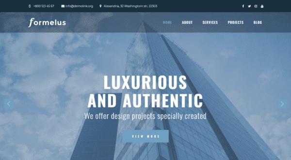 WordPress Kotisivut – Formelus