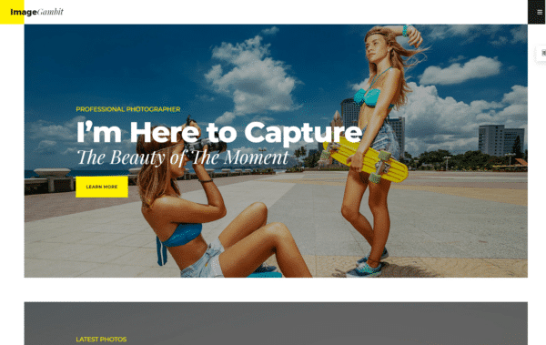 WordPress Kotisivut – Bryte ImageGambit
