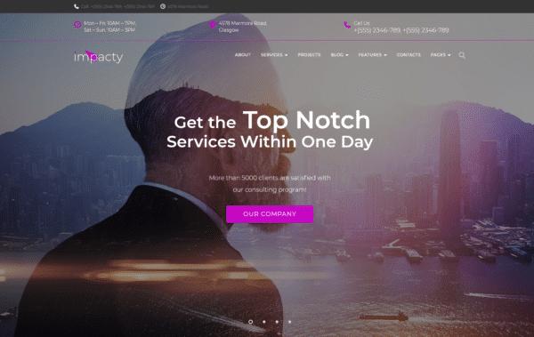 WordPress Kotisivut – Impacty