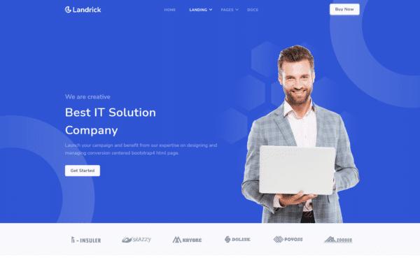 WordPress Kotisivut – Landrick IT SOLUTION