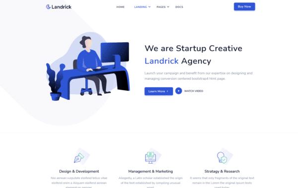 WordPress Kotisivut – Landrick Agency