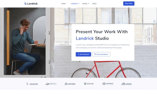 WordPress Kotisivut – Landrick Studio