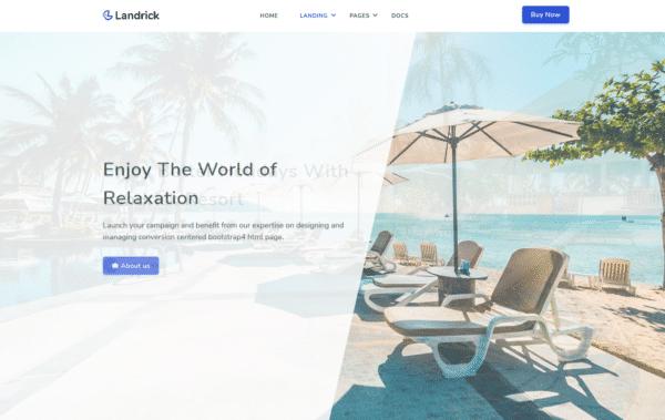 WordPress Kotisivut – Landrick Hotel
