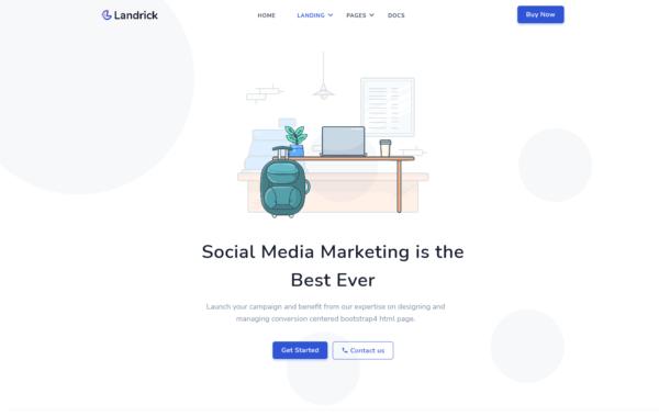 WordPress Kotisivut – Landrick Marketing