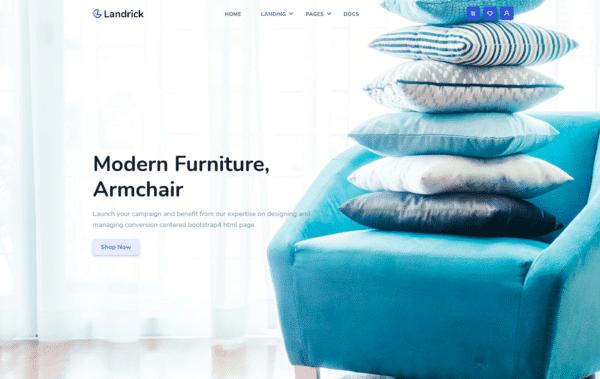 WordPress Kotisivut – Landrick Shop