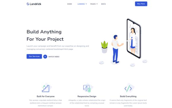 WordPress Kotisivut – Landrick Services
