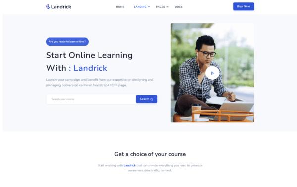 WordPress Kotisivut – Landrick Online Learning