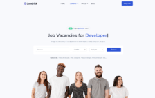 WordPress Kotisivut – Landrick Job