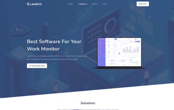 WordPress Kotisivut – Landrick Software