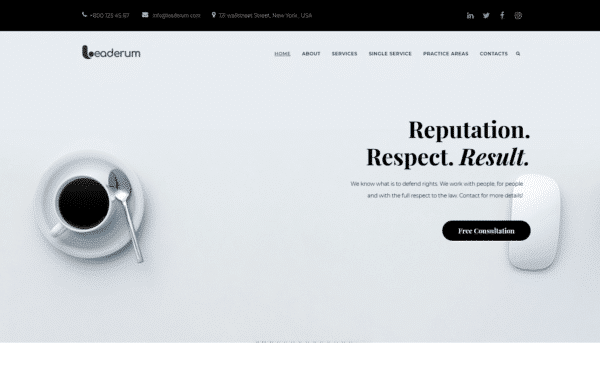 WordPress Kotisivut – Leaderum
