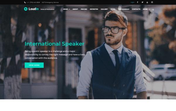 WordPress Kotisivut – Loudin