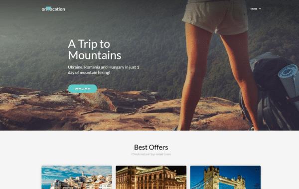WordPress Kotisivut – OnVacation