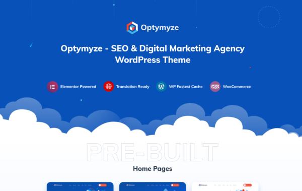 WordPress kotisivut – Optymyze